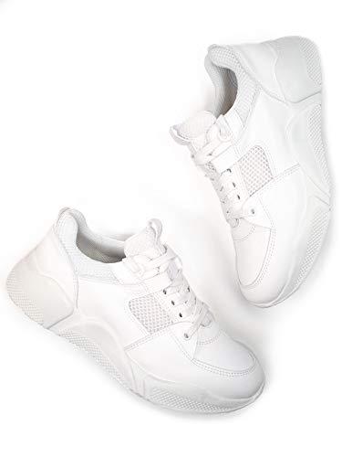 Will's Vegan Chicago - Zapatos para Mujer, Color Blanco, Color Blanco, Talla 39.5 EU