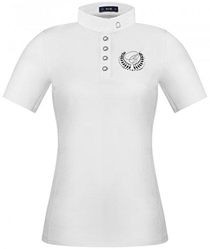 CAVALLO Damen Turniershirt Isabella, white, 36