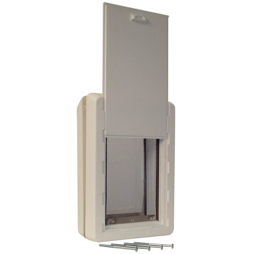 """Perfect Pet The All-Weather Energy Efficient Dog Door, Extra Large, 9.75"""" x 17"""" Flap Size"""