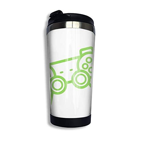 DJNGN Videojuegos Ps4 Taza de viaje de café Taza de doble pared Tazas de vaso con aislamiento al vacío de acero inoxidable de 13,5 onzas