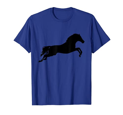 Pferd Silhouette, Ross, Hengst, Stute, Fohlen, Pony T-Shirt