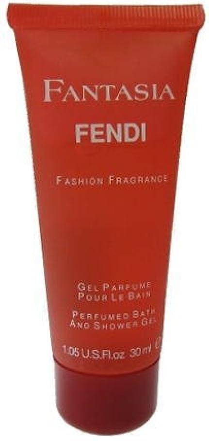 振り返るショートカットアルミニウムフェンディ[FENDI]ファンタジアシャワージェル30ml