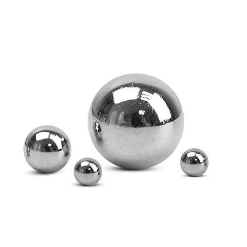 Bola de acero con rodamiento de precisión, bola de acero, bola de acero pequeña de 1mm2mm3mm4mm5mm6mm7mm8mm9mm9.525mm10mm, bola de acero al carbono-Rodamiento de acero 1mm-300 piezas