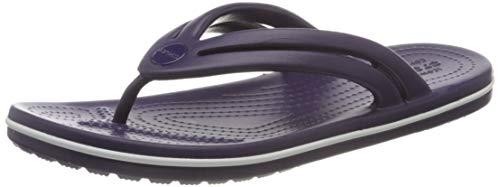 Crocs Crocband Flip Women, Chanclas para Mujer, Mora, 37.5 EU