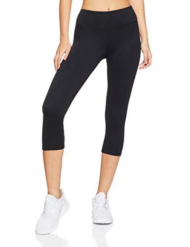 Bonds Women's Everyday Sport 3/4 Legging, Black, XX-Small