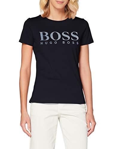BOSS Damen Temellow T Shirt, Open Blue (466), XS EU