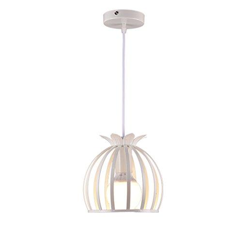 ZQL Lampada a sospensione moderna in stile europeo, lampada a sospensione decorativa a soffitto corridoio (Color : White)
