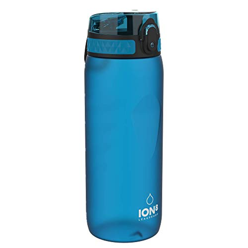 Ion8 Auslaufsichere Trinkflasche Fahrrad, BPA-frei, 750ml, Blau