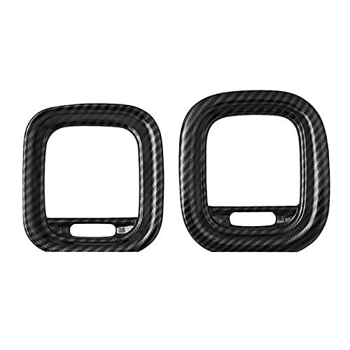 FangFang Cubierta DE VENTILACIÓN Air Outlet DE AC Decoración Kit de Ajuste Ajuste para EL Cargador DE Dodge 2015-2020 Accesorios Interiores de automóviles