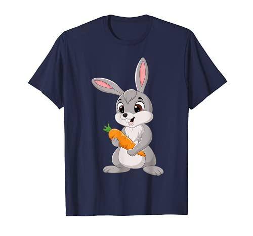 Oster Hase Mädchen Damen Kinder Ostern Ostergeschenk T-Shirt