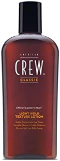 American Crew Men Light Hold Texture Lotion, 8.45 Ounce