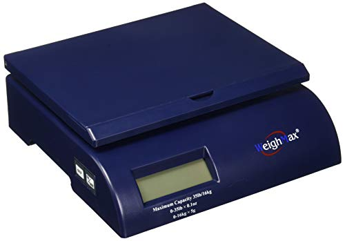 Weighmax Shipping Postal Scale, Blue...