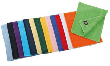 Myrtle Beach - lot 10 serviettes de toilette invité - coloris variés - 30 x 50 cm - MB420
