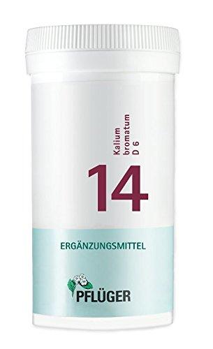 Pflüger Schüßler-Salz 14 Kalium bromatum D6, 400 St. Tabletten
