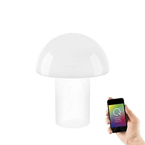 Paul Neuhaus, LED Tischleuchte, Smart-Home, RGB-W Farbwechsel Funktion, dimmbar, per Fernbedienung