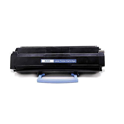 Compatible con el cartucho de tóner Lexmark X203, para la impresora Lexmark X203 X204, Negro 2,500 páginas impresas