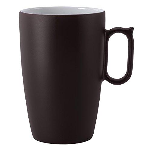 Guy Degrenne Tasse aus Porzellan, 12,4x12,4x15,5cm, Rouge Baiser, 12,4x12,4x15,5