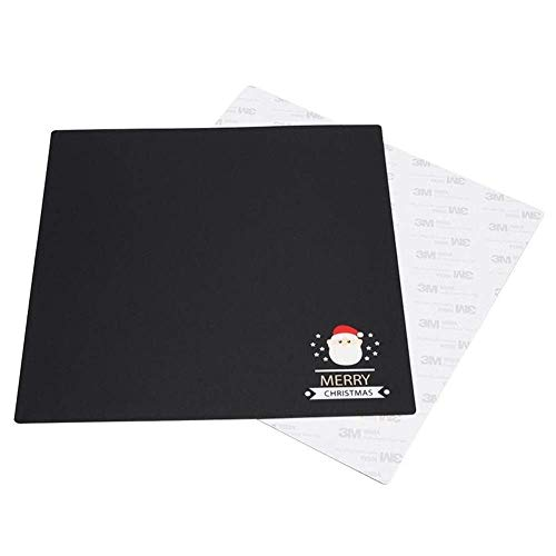 BINGFANG-W 3D printer accessories, Christmas Series Heated Bed Sticker 235 * 235mm Coordinate Printed Surface Build Sheet For Creality Ender-3 /3s Tevo Flash 3D Printer Parts printer 3D Printer