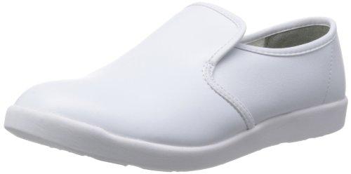[ミドリ安全] 作業靴 耐滑 軽量 スリッポン ハイグリップ H800 メンズ ホワイト 30.0(30cm)