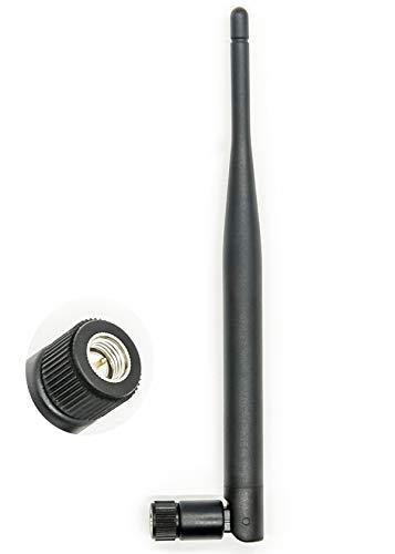Vecys Antena WiFi Antena SMA 2.4 GHz 5 dBi Adaptador...