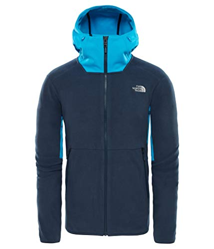 The North Face KABRU FZ fleece hoodie voor heren blauw XL