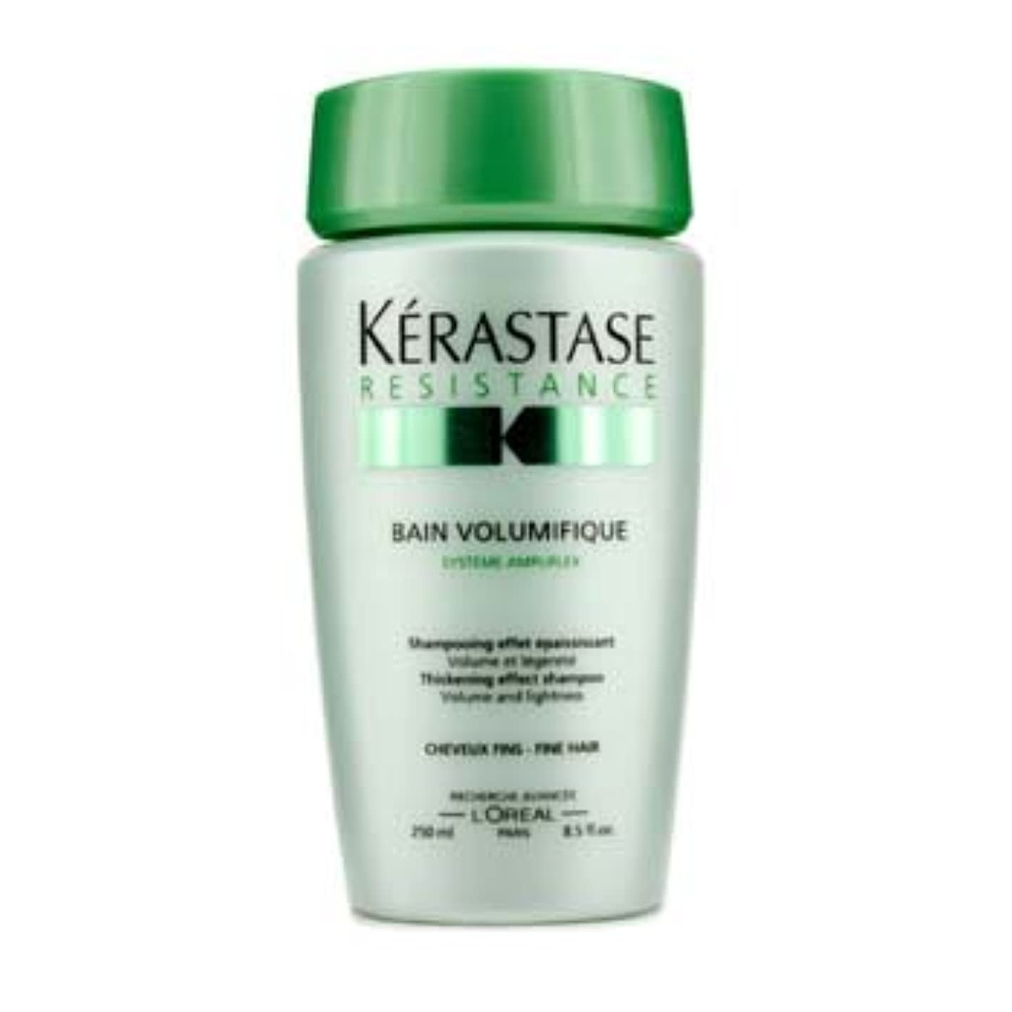 許さない背景付属品[Kerastase] Resistance Bain Volumifique Thickening Effect Shampoo (For Fine Hair) 250ml/8.5oz