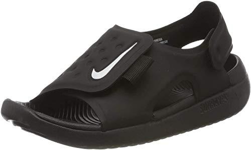 Nike Jungen Sunray Adjust 5 (GS/PS) Dusch- & Badeschuhe, Schwarz (Black/White 001), 31 EU