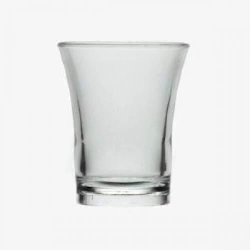 PartyPlastics Lot de 10 verres à Shot réutilisables Plastique 25 ml-polystyrène marquage CE sur la jante