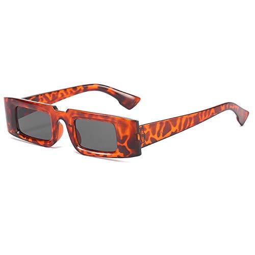 N\P Gafas de sol cuadradas de montura pequeña Gafas de sol para hombre