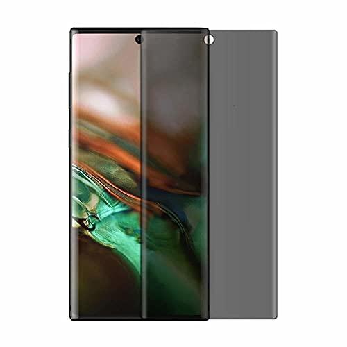 3 piezas Película de vidrio templado de privacidad, para Samsung S8 S9 S10 plus S20 ultra Note 10 pro 8 9 Protector de pantalla de teléfono anti espía Peep-Para Samsung S8