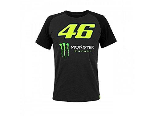 VR46 T-Shirt Raglansleeves VR|46 Rossi MotoGP Official Racing Apparel, L