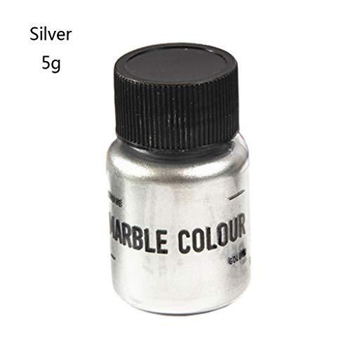 Pigmento en polvo para jabones color plata