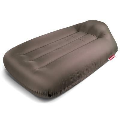 Fatboy® Lamzac L Taupe | Aufblasbares Sofa/Liege, Sitzsack mit Luft gefüllt | Outdoor geeignet | 190 x 105 x 45 cm