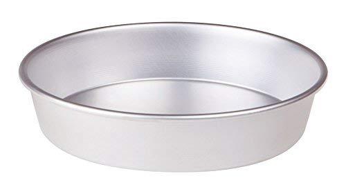 Pentole Agnelli, FAMA43/632, Tortiera Conica con Orlo, Alluminio, 32 X 32 X 6 cm