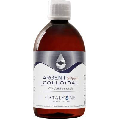CATALYONS Argent colloïdal 20 ppm - 500Ml -