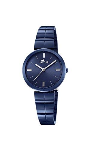 Lotus Watches Reloj Análogo clásico para Mujer de Cuarzo con Correa en Acero Inoxidable 18432/1