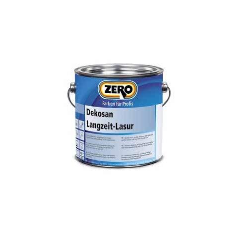 Zero Dekosan Langzeit-Lasur 2,5 Liter Nussbaum