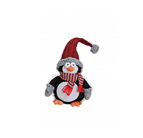 Exner Pinguïn Decoratiefiguur, pluche textiel, ca. 20 x 13 x 43 cm.