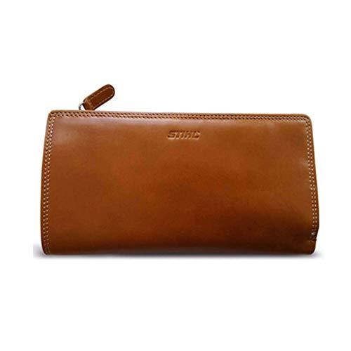 Stihl Damen geldbörse, Braun (Cognac), 5x9x17 cm