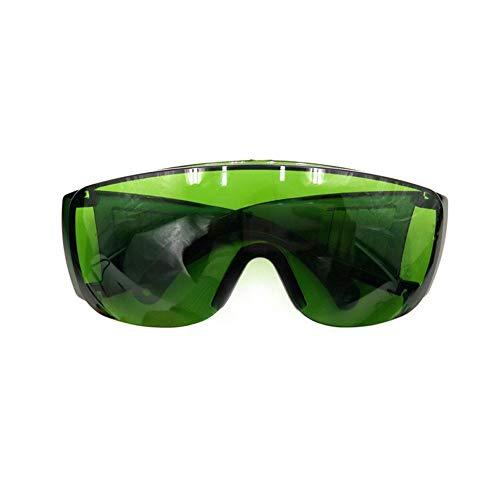 Aontean Brille Anti-Ultraviolett-Beschichtungsbrille Laserbrille Fluoreszierende Grüne Brille Senden Brille Box Outdoor-Sportbrille Sonnenschutz Anti-Fog-Brille Anti-Kratzer Integrierten Seitenschutz