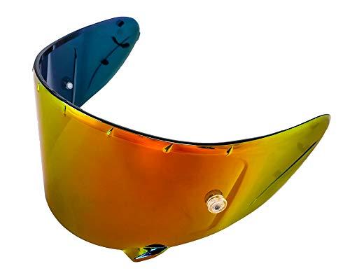 Red Iridium X-14 CWR-F CWR-1 Pinlock X-Spirit 3 RF1200 RF-SR Aftermarket Shoei Helmet Shield Visor Motorcycle