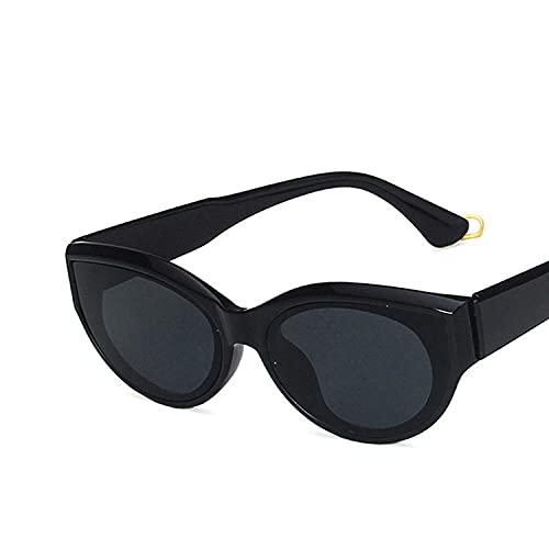 U/N Gafas de Sol para Mujer Gafas de Sol Vintage Decoración de Templo única Gafas para Hombre Gafas Mrrior Negras-3
