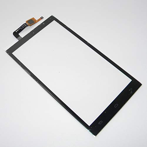 Touch Screen Digitizer Glass PDA for Micromax Canvas Juice 2 AQ5001 - Black