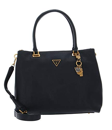 Guess Destiny Society Carryall, Bags Hobo Donna, Black, Taglia unica