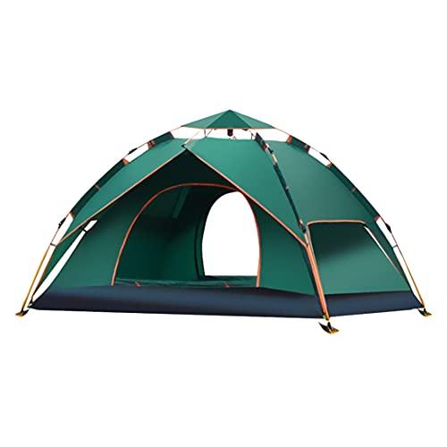 LAMA Tenda a Cupola pop-up 1-2 Persone Tenda da Campeggio Automatica Impermeabile Anti-UV Tenda da Campeggio Antivento Tenda Istantanea per Campeggio Escursionismo Pesca 210 x 140 x 110cm