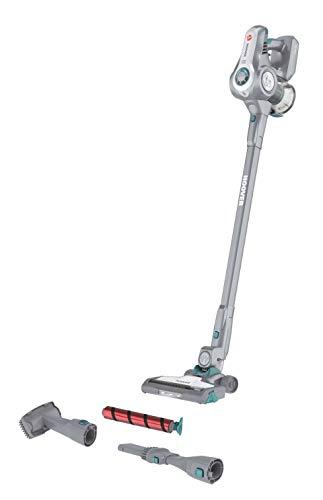 HOOVER Akku-Hand- und Stielstaubsauger H-FREE 700 All Floors, HF722AFG, verbessertes Reinigungserlebnis, multifunktional, ergonomisch, 3 Fach Zubehör im Lieferumfang