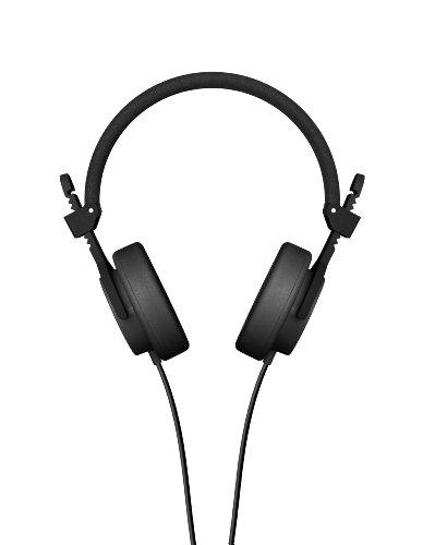 HOSA-PRO SOUND CAPITAL BLACK LIFESTYLE HEADPHONES W/ IN-LINE