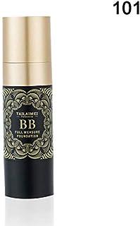 Symboat ウィメンズ BBクリーム モイスチャライジング コンシーラー オイル コントロール ファンデーション美容 化粧品 ニキビ跡、クマ、を隠す 健康的な自然な肌色 素肌感
