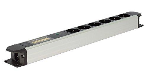 Goldkabel Powerline Flex Vollschutz 6er Netzleiste ohne Schalter