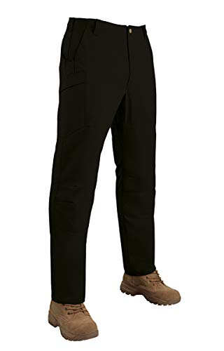 Tru-Spec Men's Standard 24-7 Pro Vector Pants, Black, 30W x Unhemmed